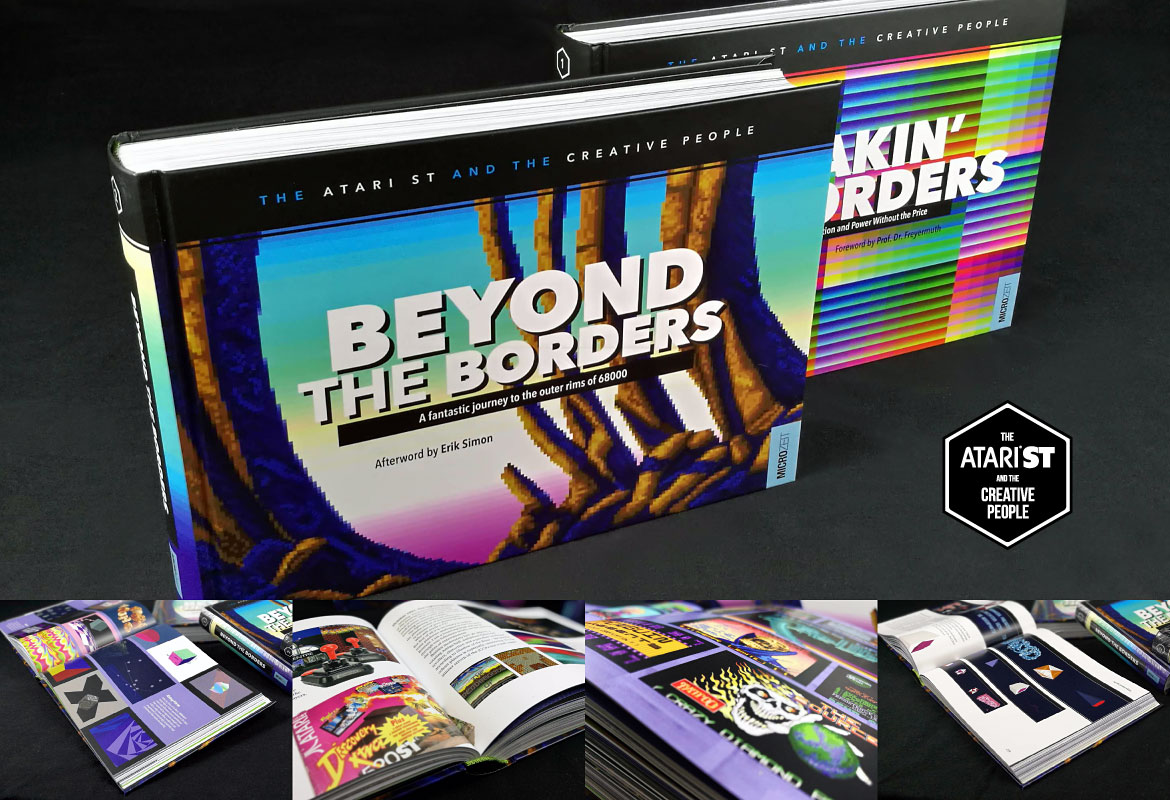 The Atari ST and the Creative People Vol. 2: Beyond the Borders – Buch